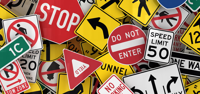 6 Commonly Broken Traffic Laws